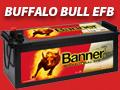 Banner Batterien - Buffalo Bull EFB, Starterbatterie für Nutzfahrzeuge