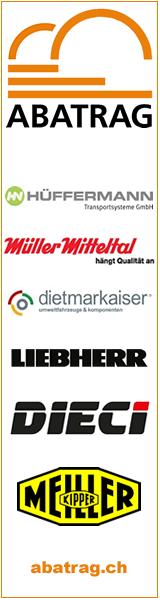ABATRAG AG - LIEBHERR, DIECI, MEILLER, HÜFFERMANN, Müller-Mitteltal, dietmarkaiser